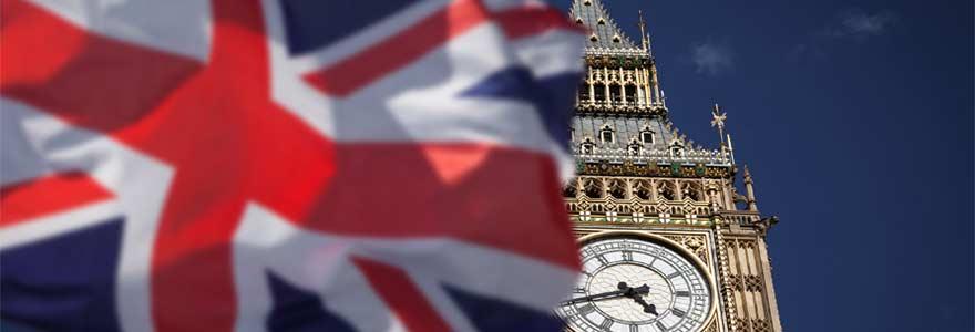 L'union jack l'un des symboles les plus importants de Grande-Bretagne